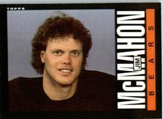 1985 Topps # 31 Jim McMahon Chicago Bears Football Card - Shipped In Protective Screwdown Display Case! by Topps. $2.95. 1985 Topps # 31 Jim McMahon Chicago BearsFootball Card - Shipped In Protective Screwdown Display Case!