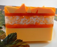 Soap  Pumpkin Spice Soap Made with Goats Milk  by SoapGarden