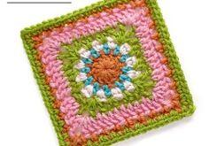 Cheerful Child Crochet Along Easton Square #5