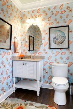 coastal bathroom | Schell Brothers