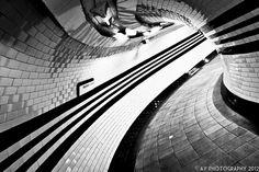Go Faster Stripes - London Underground - Hampstead Underground Station, London, England