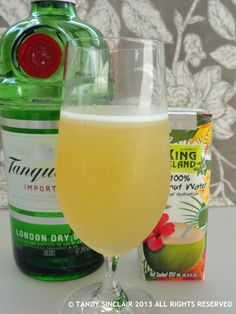 Tanqueray Gin Breeze Cocktail Recipe - Lavender and Lime