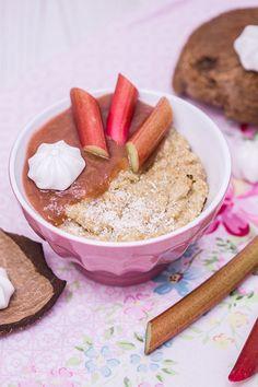 Kokos-Quinoa mit Rhabarber-Kompott   verzuckert-blog.de