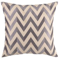 I pinned this D.L. Rhein Zig Zag Pillow in Gray from the Colorwheel event at Joss and Main!