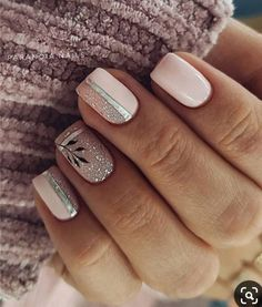 40 Spring Light Color Square Acrylic Nails Designs Polymer nails are the latest trend as well as rapidly become an essential part of nail art. Heart Nail Designs, Valentine's Day Nail Designs, Square Nail Designs, Acrylic Nail Designs, Colorful Nail Designs, Nails Design, Nail Art Saint-valentin, Easy Nail Art, Nail Arts