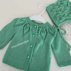 Herringbone Stitch Knitting, Crewel Embroidery, Baby Knitting Patterns, Baby Dress, Rompers, Pullover, Sweaters, Tops, Dresses