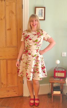 Handmade Jane: Emery dress by Christine Haynes - read all about it