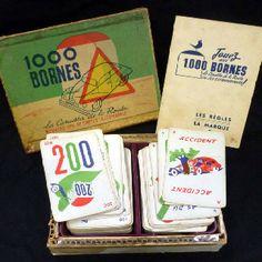 #Mille Bornes #1000 Bornes www.jeuxdujardin.fr #Vintage
