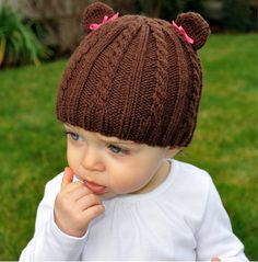 $1.99..  comes with instructions for sizes newborn, 0-6 months, 6-12 months, Toddler/Child S, and Child L/Adult S. Looks great in any color and can be made with or without bows on the ears to be worn by a girl or a boy..