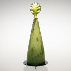 PAULI PARTANEN - Veistos 'Primavera', sign. Pauli Partanen -95. Korkeus 47 cm. Glass Design, Design Art, Bukowski, Decorative Bells, Finland, Modern Contemporary, Scandinavian, Glass Art, Retro Vintage