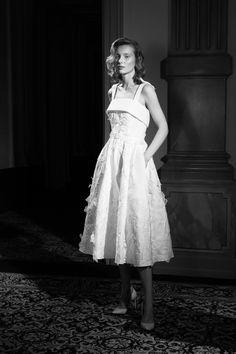 Dress Ideas, White Dress, Wedding Dresses, Spring, Collection, Fashion, Bride Dresses, Moda, Bridal Gowns