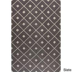 Caitlin Black/Taupe/Slate Wool Tufted Area Rug (7'6 x 9'6) S$630