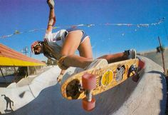 skater girls from the '70s