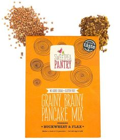 When I received the pack of grainy brainy pancake mix I was definitely intrigued and impressed with the packaging. There were some clearly labelled instructions on the packet as well as some fun doodles that helped illustrate the instructions as well. I put the package straight away in the kitchen ready for some Saturday morning …