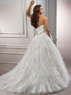 Купить товарСкидка   красивая платье линии рукавов длиной до пола с свадебные платья дешевые белого цвета слоновой кости свадебные платья горячая распродажа в категории Свадебные платьяна AliExpress.