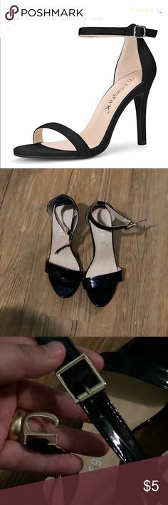 Allegra K black stiletto heels Gorgeous heels I just no longer wear. Used a couple of times, but look in like new condition Allegra K Shoes Heels