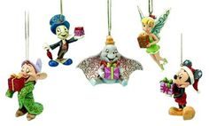 Jim Shore Disney Ornament Set