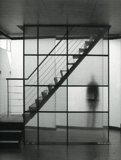Australian Residence - Conceptual Precedent Study. Stairs as Object.  Bronze/glass stair, as one ascends floors, it might be appropriate to allow the stair element to become lighter in appearance and construction. On lower floors, they might appear stronger, more masonic, and connected to the earth.
