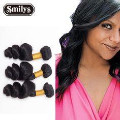 Unprocessed Brazilian Virgin Hair Loose Wave 3 Bundles Grade 6A Human hair extension weave bundle Hair loose bady wave