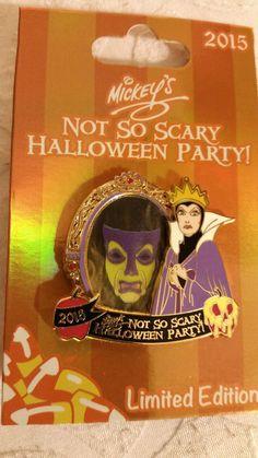 Disney Mickey's Not So Scary Halloween Party 2015 Evil Queen Magic Mirror Pin