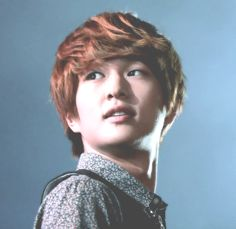 red hair onew is my favorite onew