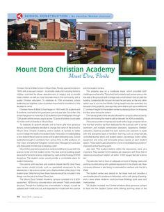 Mount Dora Christian Academy Mount Dora, Florida