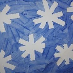 Image Result For Preschool Snow Crafts