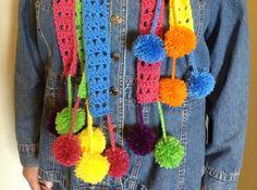 Handmade Womens Crochet 3 Layer Neckwarmer by disliltreasures, $39.00