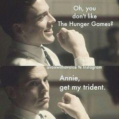 Annie get my trident