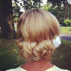 Bridesmaid hair www.styleme.org.uk
