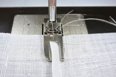 fast machine stitched pojagi seams (flat felled seams) - scroll down on the page to see the pictures