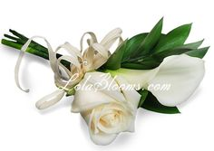 Calla lily boutonnieres and corsages