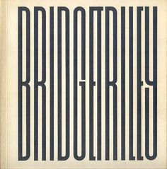 :: Bridget Riley - Exhibition Catalogue, 1971 ::