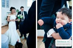 French-Scottish wedding at the Lovekyn Chapel, Kingston-upon-Thames