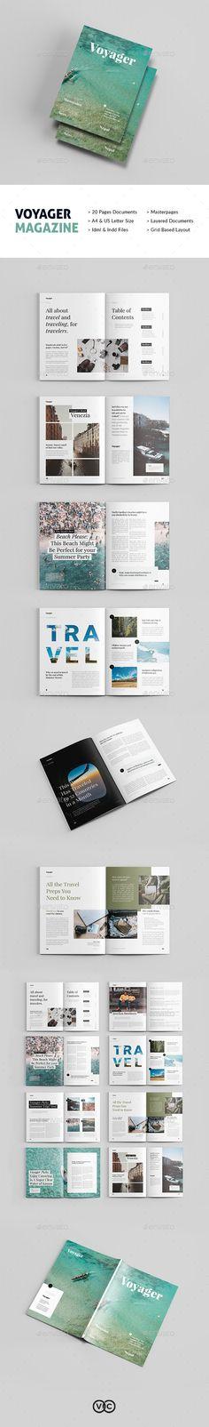 Voyager Magazine - Magazines Print Templates