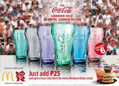 The Coca Cola London 2012 Olympic Games Glasses are out!