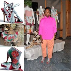 Los Angeles based Ghanaian born Mimi Plange collaborates with Manolo Blahnik. African American Fashion, African Inspired Fashion, Black Fashion Designers, Michelle Trachtenberg, Fashion Line, Manolo Blahnik, Ghana, Style Inspiration, Lady