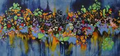 "Saatchi Art Artist Francoise Issaly; Painting, ""The Edge of Perception"" #art"