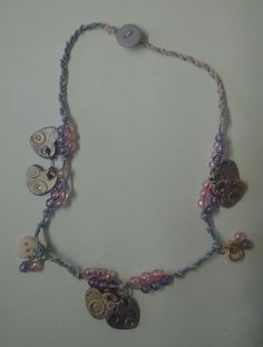 Heart and Bead Necklace £3.00   Item Sold :)