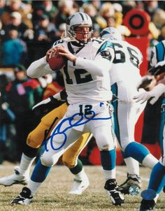 Kerry Collins Carolina Panthers Autographed 8x10 Photo -Back to Pass- 6c7806576