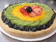Fresh Fruit Tart ( Tarte aux fruits frais )