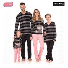 63b3760fdecc66 26 melhores imagens de pijama familia em 2018   Pijamas, Abraços de ...