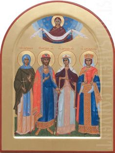 painted family icon