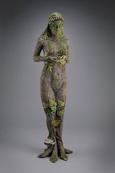 Forest dryad (tree nymph, a female spirit of a tree)