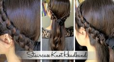 Staircase-Knotted-Headband-Hairstyle