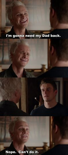 "#iZombie 2x13 ""The Whopper"" -Blaine and Major"