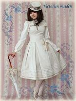 Victorian Maiden / Jumper Skirt / Braided Line Dress with Cape