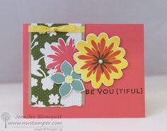 Another Flower Idea for your Flower Patch Cards | Northwest Stamper