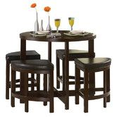 Found it at Wayfair - Brussel II 5 Piece Counter Height Dining Set