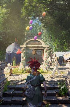 chrono trigger, copyright, scenery / beginning morning-pixiv Chrono Trigger, Arte Final Fantasy, Fantasy Art, Retro Video Games, Video Game Art, Super Nintendo, Tatoo Star, Chrono Cross, Mundo Dos Games